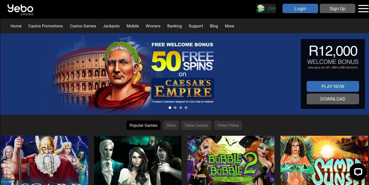 Yebo Casino Online South Africa