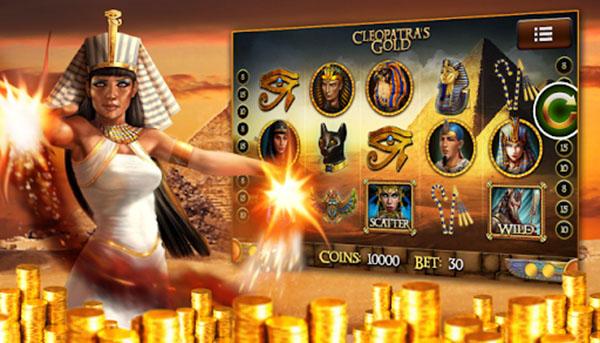 Cleopatra's Gold Online Slot Games
