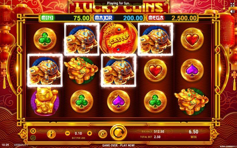 Casino Game Lucky Coins Reviews