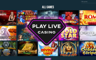 What games does PlayLive offer?